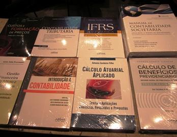 Novos livros da área de Ciências Contábeis no acervo da Biblioteca