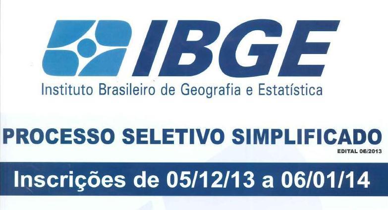 Últimos dias de inscrição para o Processo Seletivo do IBGE