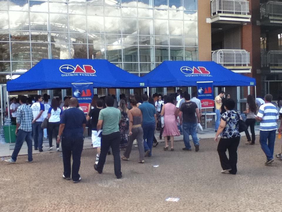 OAB divulga locais de prova e banca corretora da 2ª fase do XII Exame
