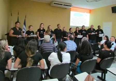 Equipe da PIO XII participa de treinamento sobre Competências Interpessoais