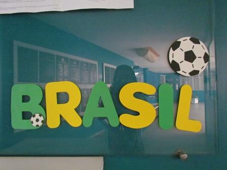 A PIO XII já está pronta para torcer pelo Brasil na Copa!