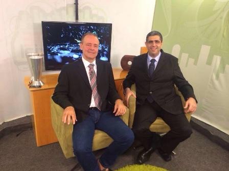 Professor da PIO XII participa de debate na TV Ambiental