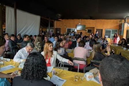 Alunos e professores de Direito participam de almoço-palestra
