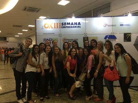 Acadêmicos da PIO XII participam da XIII Semana Empresarial