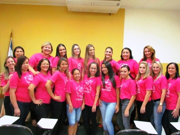 Tudo rosa na PIO XII: campanha contra o câncer de mama
