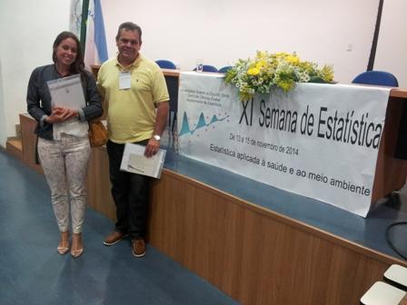 Professor Robson Carlos participa da Semana de Estatística da Ufes