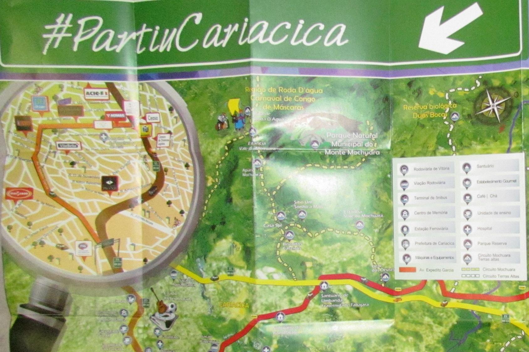 Faculdade em Cariacica é PIO XII. Confira o mapa da cidade com as principais instituições