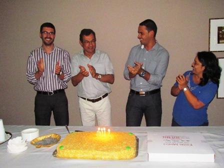PIO XII comemora com aniversariantes do mês