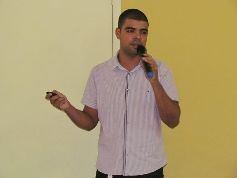 Aluno de Biomedicina ministra Workshop sobre Imagenologia
