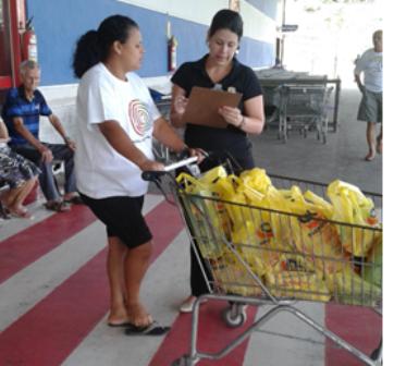 Alunas traçam o perfil do consumidor de supermercado de Cariacica por meio de pesquisa de campo
