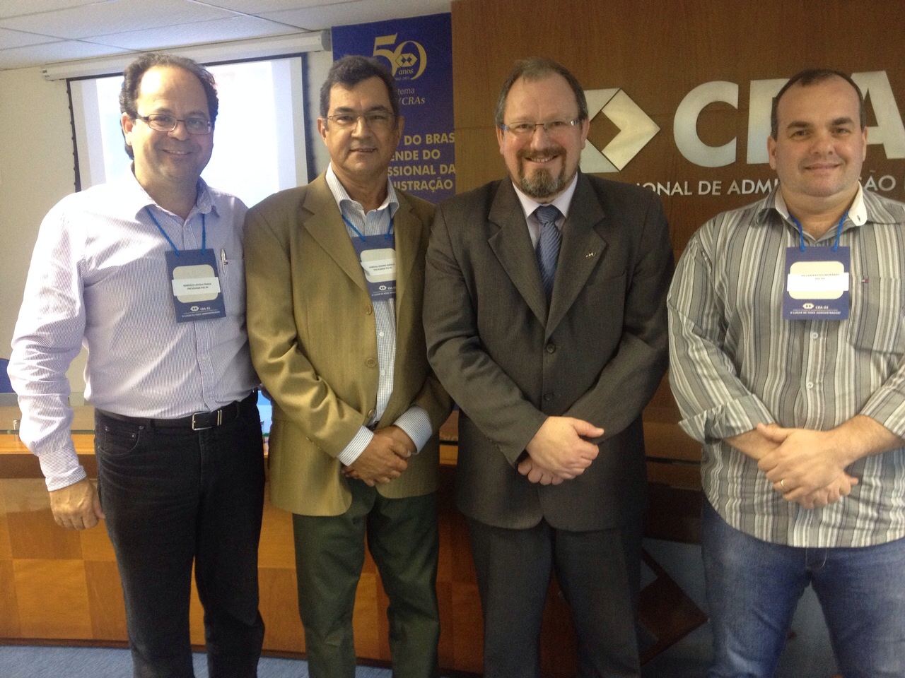 Coordenadores participam de evento promovido por CRA e SINEPE