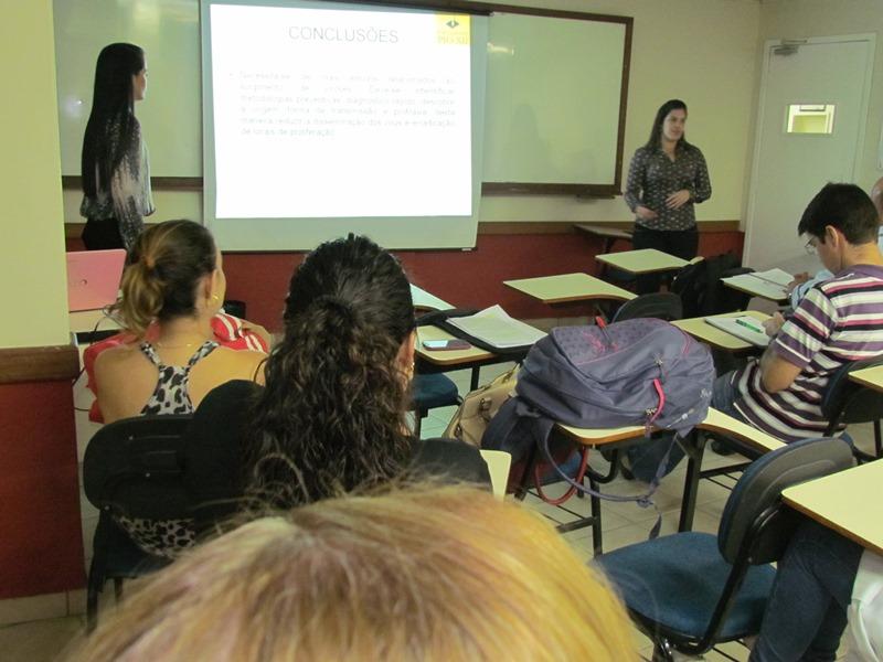 Começam as apresentações de TCC de Biomedicina na PIO XII