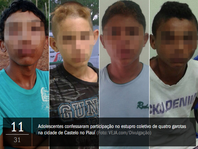 Estupro, espancamento e morte: a tarde de horror no Piauí