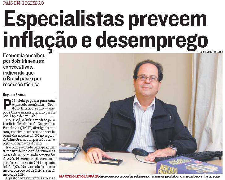 Professores se destacam nas edições do jornal A Tribuna do fim de semana