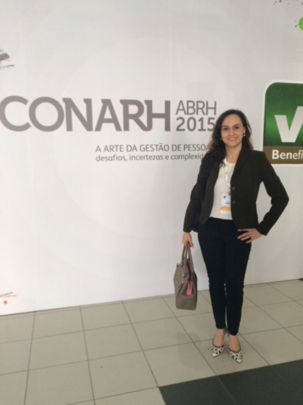 Professora Neidy Christo participa de maior congresso de Gestão de Pessoas da América Latina