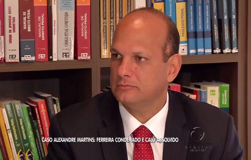 Professor Rivelino Amaral opina em caso de rolamento de pedra