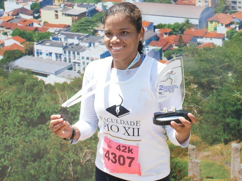 Aluna da PIO XII fica entre os melhores da II Maratona do Estado