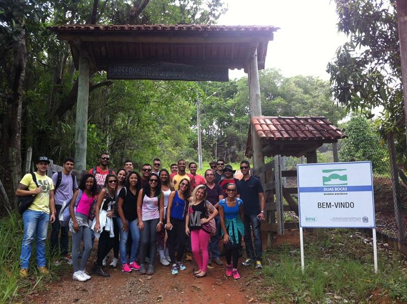 Acadêmicos de Direito têm aula em Reserva Duas Bocas