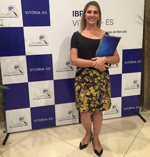 Coordenadora da PIO XII participa de abertura da unidade do Instituto Brasileiro de Planejamento e Tributação em Vitória