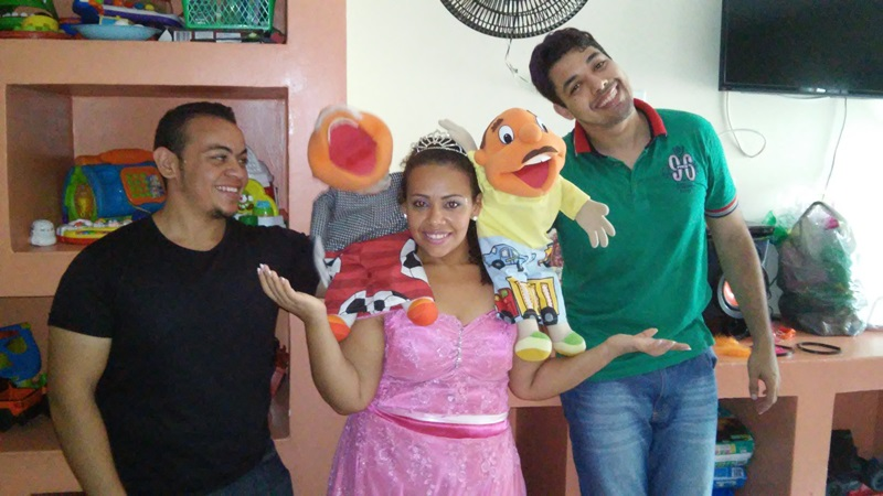 Risos que Curam realiza última ação de 2015