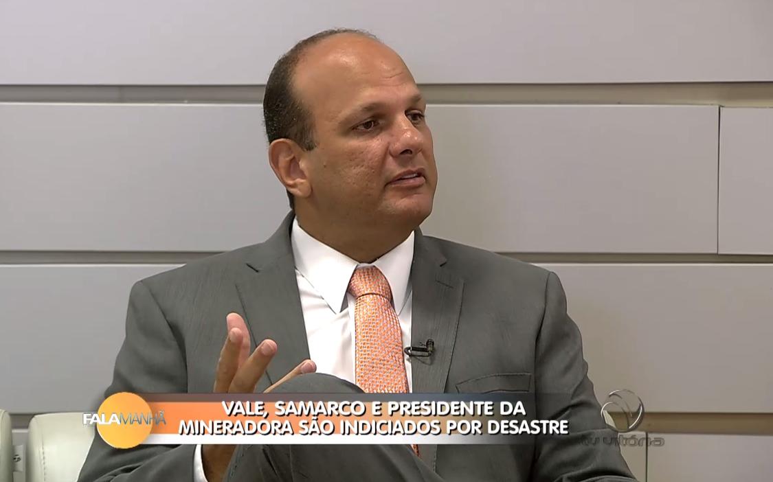 Professor Rivelino Amaral fala sobre indiciamento de empresas pelo desastre em Mariana