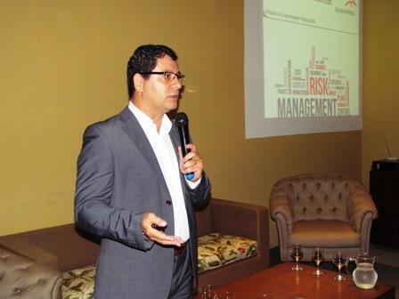 CFO e Head de Riscos & Compliance da ArcelorMittal Brasil palestra na PIO XII