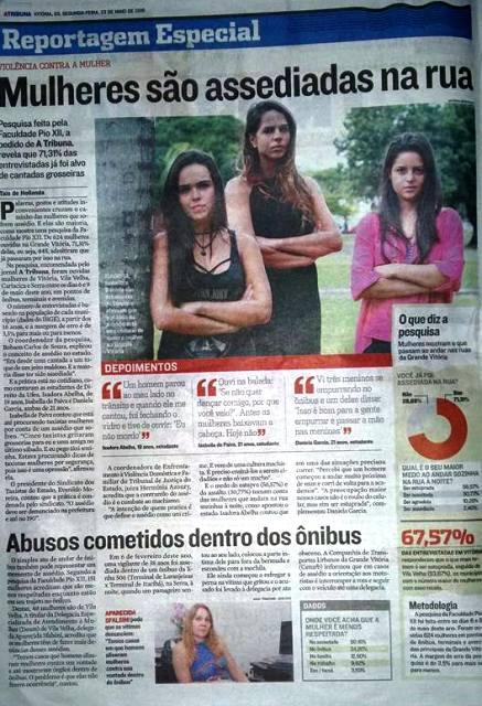 Pesquisa da PIO XII sobre Violência Contra a Mulher é destaque em A Tribuna