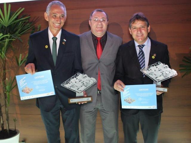 Projetos do Sebrae-ES recebem prêmio em Brasília. Unidade é gerenciada por Professor da PIO XII