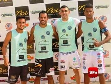 Lacraia disputa Copa Itaipuaçu e fica em segundo lugar