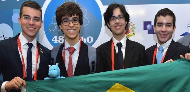 Brasil conquista quatro medalhas em Olimpíada Internacional de Química