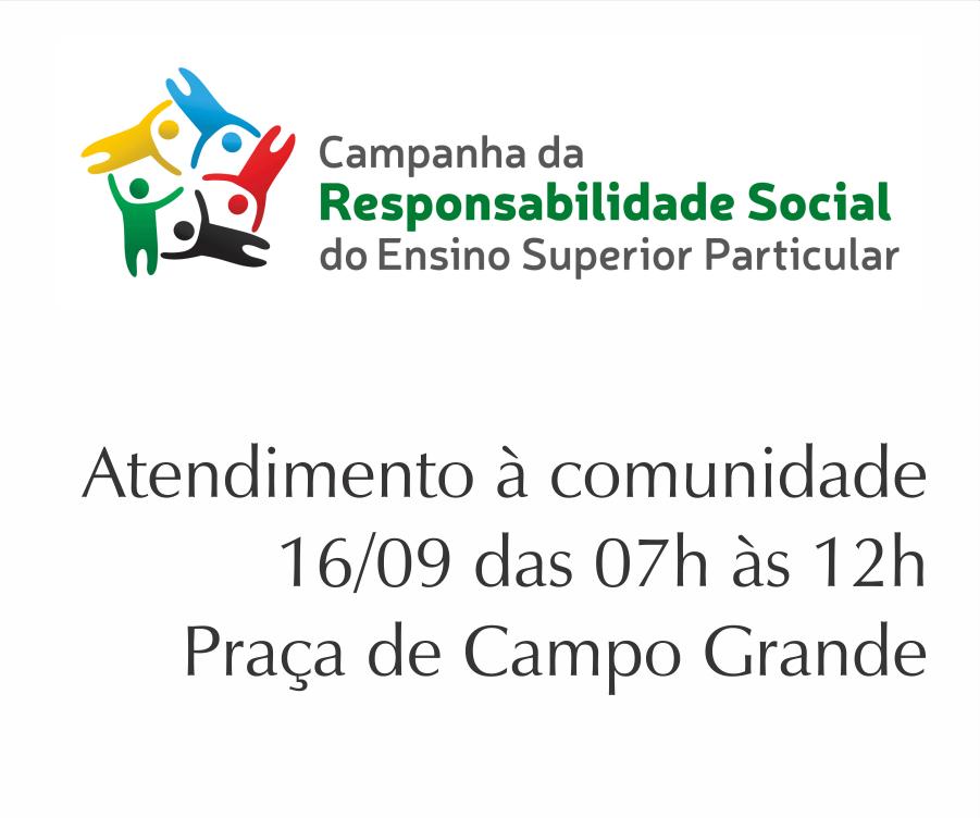 PIO XII faz atendimentos à comunidade nesta sexta em Campanha da Responsabilidade Social