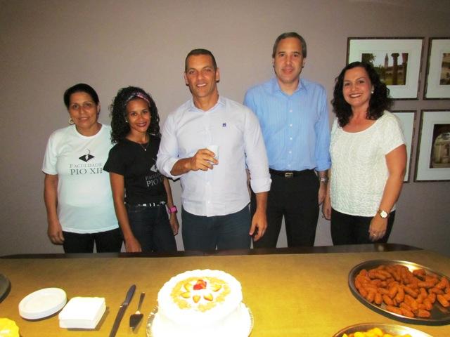 PIO XII comemora com aniversariantes de setembro