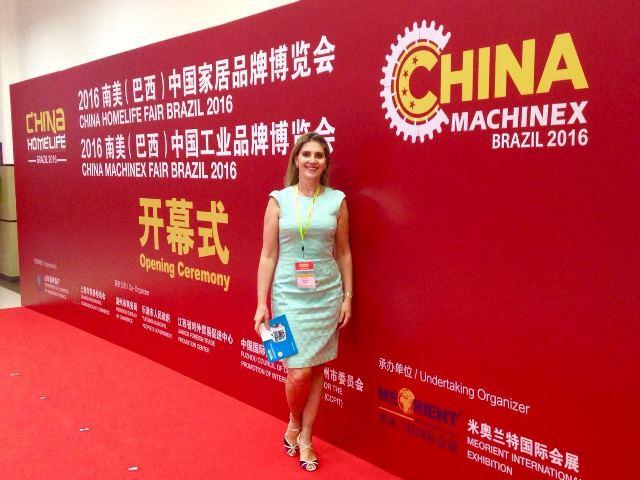 Coordenadora participa de Encontro Brasil China em São Paulo