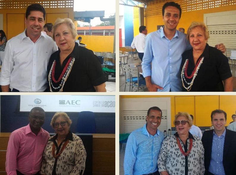 PIO XII presente em projeto da Associação Empresarial de Cariacica para conhecer candidatos