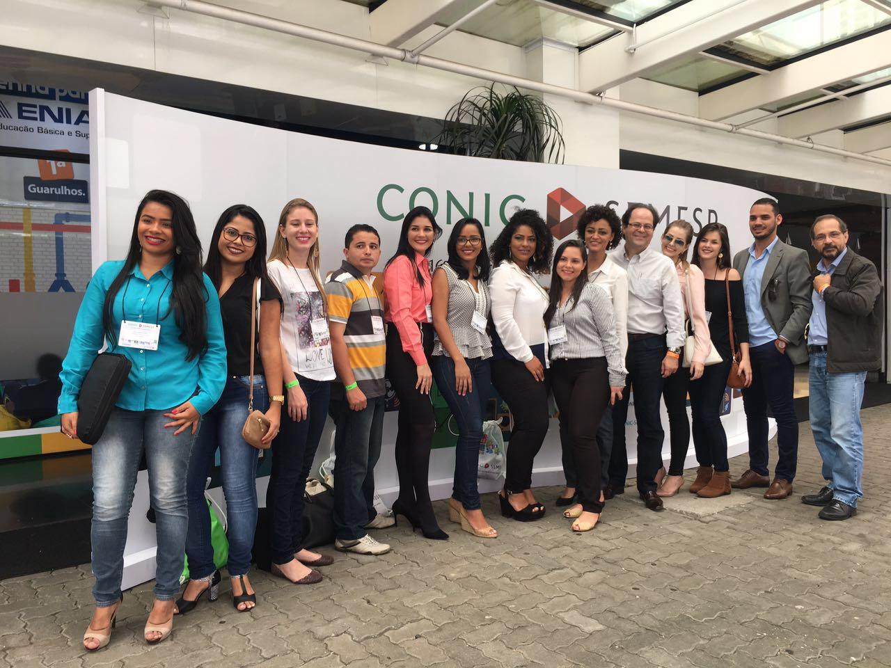 16 alunos apresentam artigos no CONIC