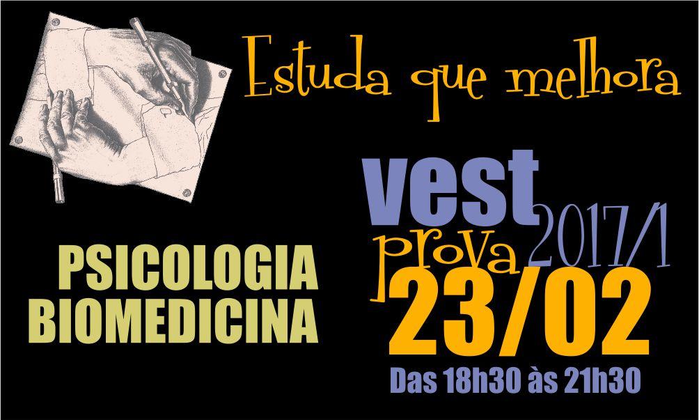 Vest PIO XII para Biomedicina e Psicologia, Prova 23/02