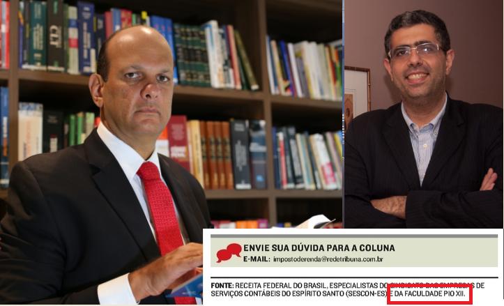 Professores contribuem em A Tribuna e A Gazeta
