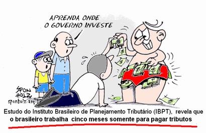 Opinião: Brasileiro trabalha cinco meses para pagar imposto