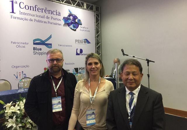 Professores participam de Conferência Internacional de Portos
