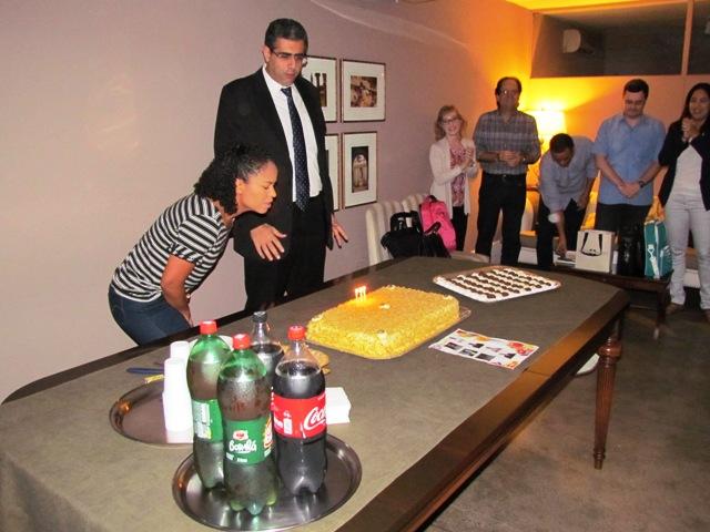 PIO XII comemora com aniversariantes de julho