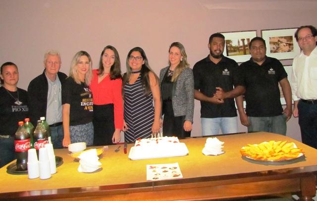 PIO XII comemora com aniversariantes de Agosto