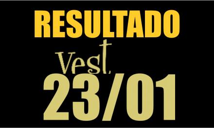 Resultado Vest 2018/1 Prova 23/01