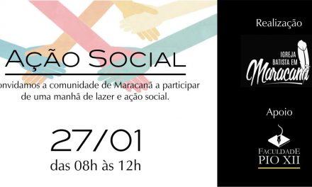PIO XII realiza Ação Social em Igreja de Maracanã