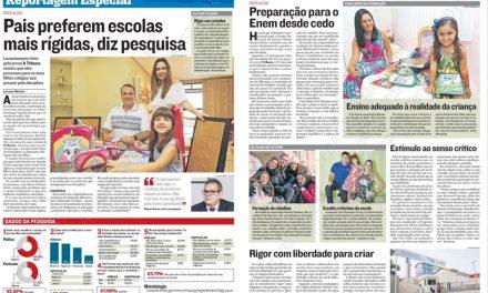 Na mídia: Pesquisa sobre desejo dos pais para escolas dos filhos