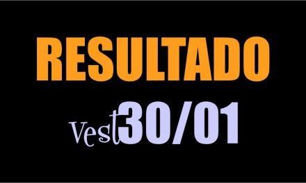 Resultado Vest 2018/1 Prova 30/01