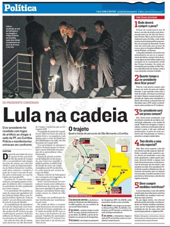 Na Mídia: Condenação de Lula, Mercado Profissional e mais