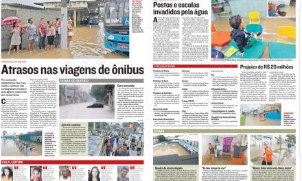 Na Mídia: Chuva no Estado, Colégio PIO XII e mais