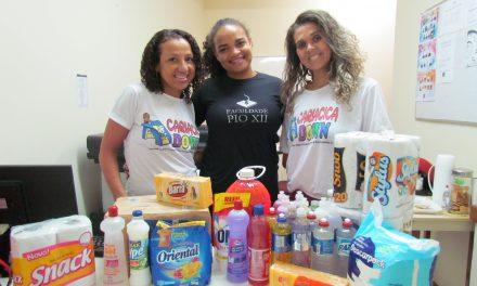 PIO XII arrecada doações para Cariacica Down
