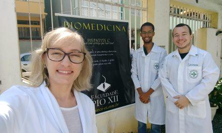 Equipe de Bio promove ação de testagem para Hepatite C