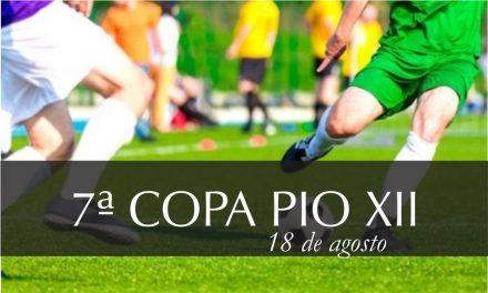 Prazo de inscrição para 7ª Copa PIO XII é prolongado